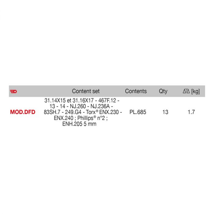 FACOM MOD.DFDPB - Disc Brake Module
