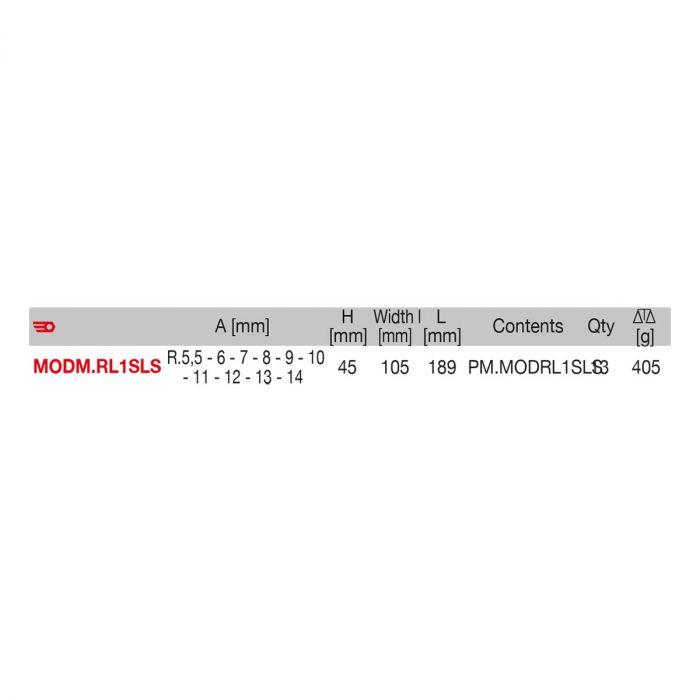 FACOM MODM.RL1SLS - 13pc SLS Tethered 1/4
