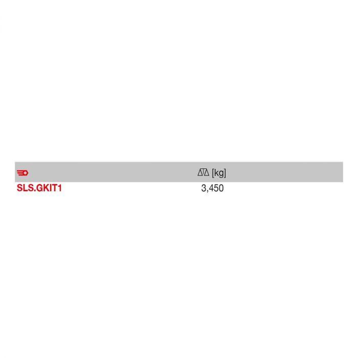 FACOM SLS.GKIT1 - 27pc SLS Heat Shrink Sheath + D Ring Set + Case