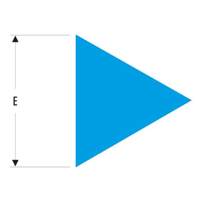 FACOM TRI.MD200EMASLS - 200mm SLS Tethered Triangle Second Cut Metal File + Handle