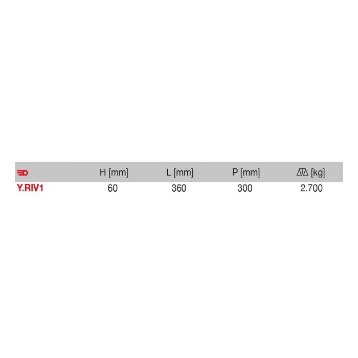 FACOM Y.RIV1 - Rivet Gun + 450 Rivets Set